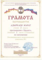Адырхаев Марат