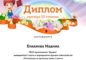 Елканова Мадина