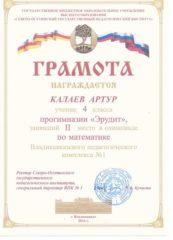 Калаев Артур