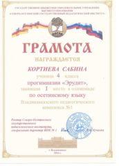 Кортиева Сабина