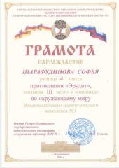 Шарафудинова Софья